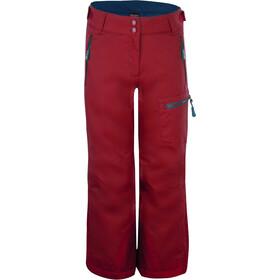 TROLLKIDS Hallingdal Spodnie Dzieci, rusty red/mystic blue